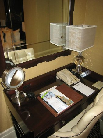 The Algonquin Hotel Times Square, Autograph Collection: Desk in my room