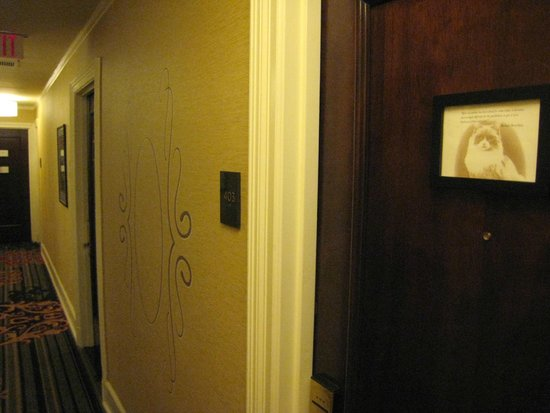 The Algonquin Hotel Times Square, Autograph Collection : Hallway outside my room