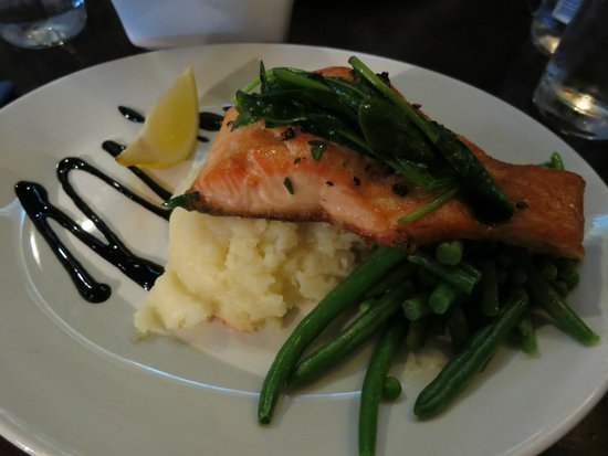The World's End: Fresh fillet of Scottish salmon