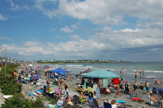 Long Sands Beach: Full beach