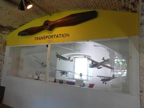 Fort East Martello Museum : Transportation in Key West