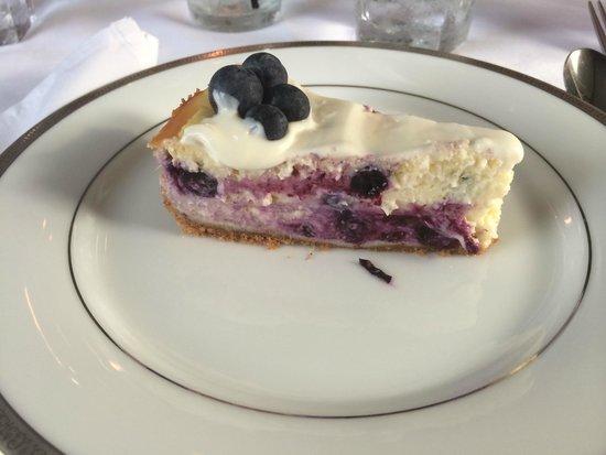 Pleasant Valley Inn : Blueberry Cheesecake