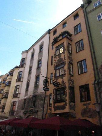Altstadt von Innsbruck: pinturas típicas