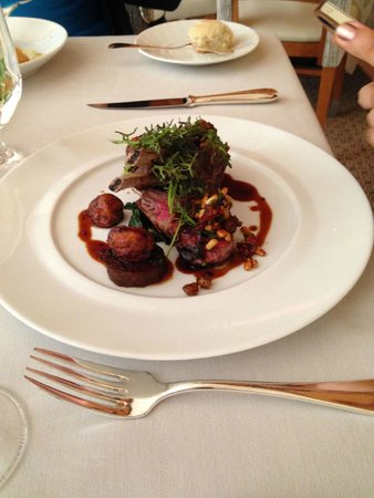 Michael Mina at Bellagio: Delicious lamb