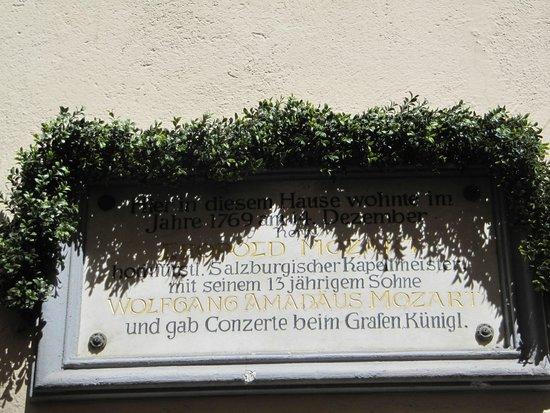 Altstadt von Innsbruck: Aqui viveu Mozart