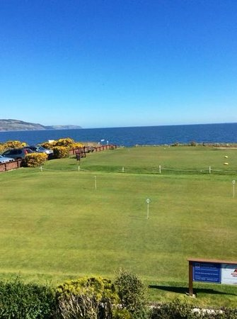 Fortrose, UK: first hole
