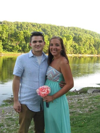 Gaston's White River Resort: The future Mr. & Mrs. Toby Taylor (Before he leaves for Air Force Training)