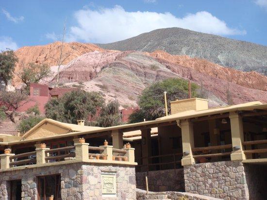 Terrazas de La Posta: vista del hotel y su entorno