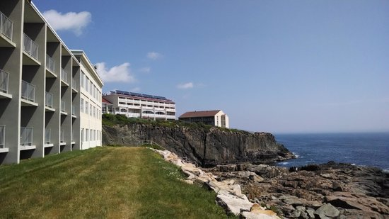 Cliff House Maine: View from far end of the property