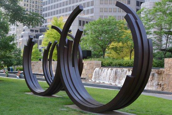 City Garden: Circles.