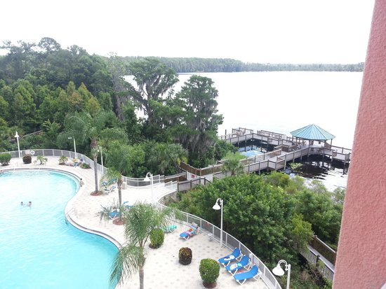 Blue Heron Beach Resort: balcony view