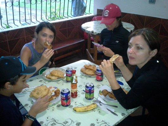 Adventures Panama: breakfast