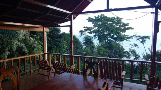 Casa Horizontes Corcovado : View from the balcony