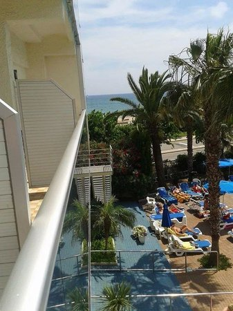Golden Taurus Park Resort: view from one of our balconys
