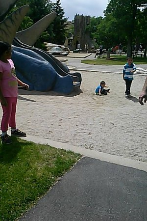 George S. Eccles Dinosaur Park: Onsite playground