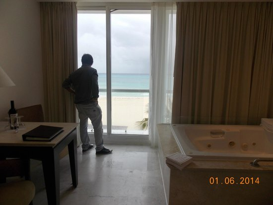 Playacar Palace: Vista desde la habitación