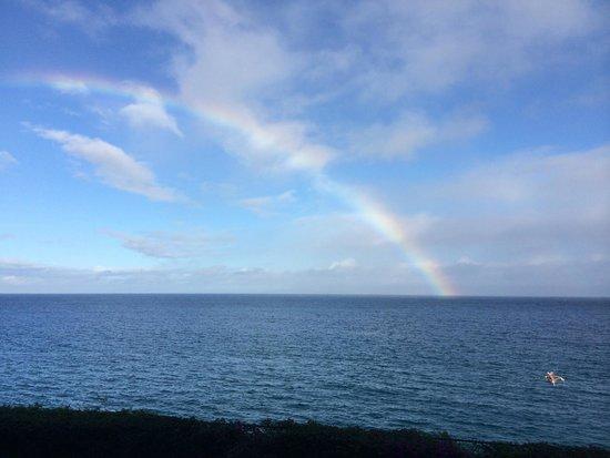 Sheraton Maui Resort & Spa : Wake up to a rainbow