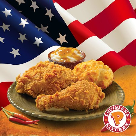 Delicious Cajun Fried Chicken From Usa Picture Of Popeyes Tan Dinh