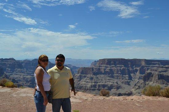 Grand Canyon Skywalk: eagle point