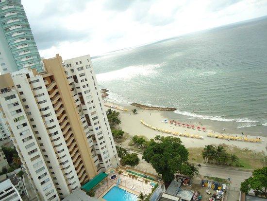 Cartagena Premium Hotel: vista da cobertura do hotel