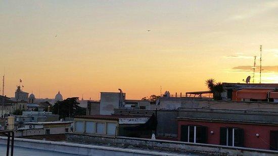 Hotel Artemide: View from hotel room - Artimede Hotel top floor