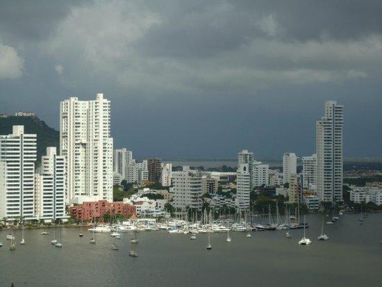 Cartagena Premium Hotel : vista do apto