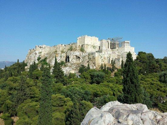 Acropolis: вид с сопки напротив