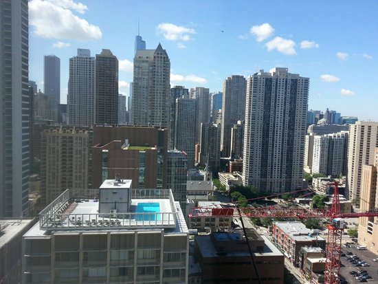 Sofitel Chicago Magnificent Mile : southern view from the room
