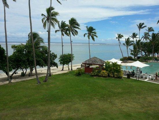 Shangri-La's Fijian Resort & Spa: View from our room
