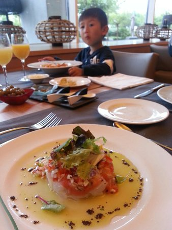 Hotel Atenea Port Barcelona Mataro : Lunch in hotel