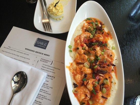 Sable Kitchen & Bar: Shrimp & Grits