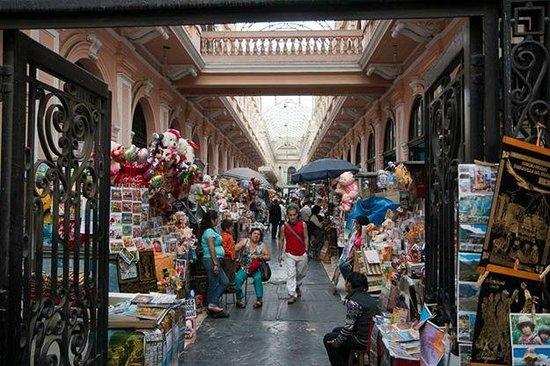 Centro histórico de Lima: markets