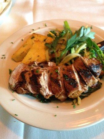 Snake Creek Grill: Pork Tenderloin