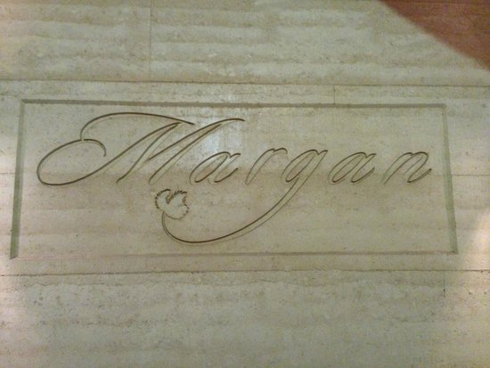 Margan Restaurant: Sandstone Logo