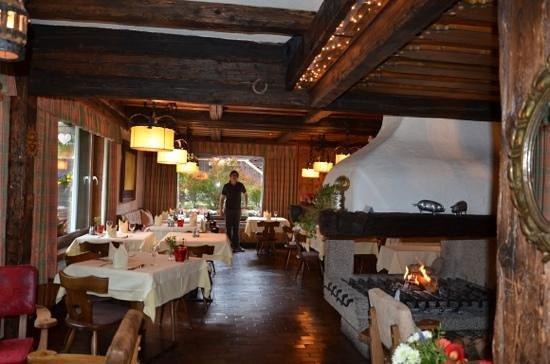 Chalet Hotel Senger: Dinner