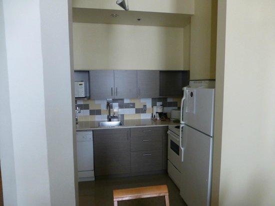 Le Square Phillips Hotel & Suites : Kitchen