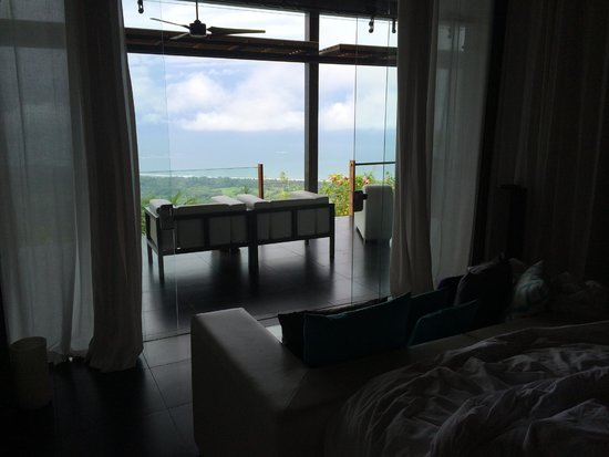 Kura Design Villas Uvita: View from Sleeping Area