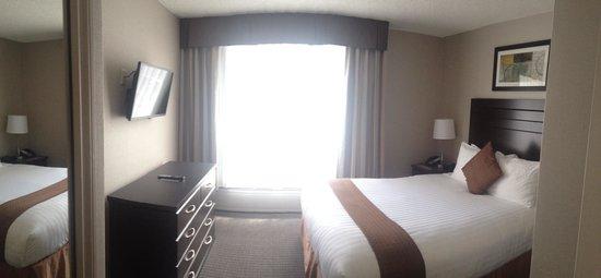 Regency Suites Hotel Calgary : bedroom
