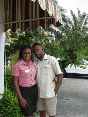 Grand Pineapple Beach Negril: wonderful staff members Teka and Rondino