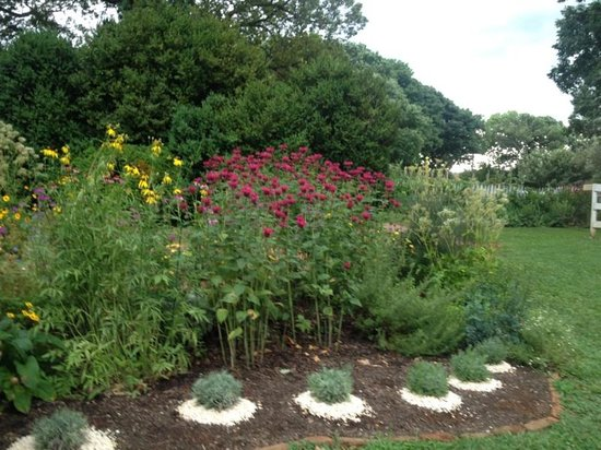 James Monroe's Highland : One of many beautiful gardens