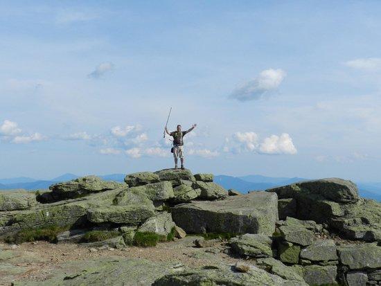 Mount Lafayette: The peak celebration!