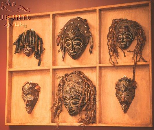 ubuntu cafe and bakery: Masks