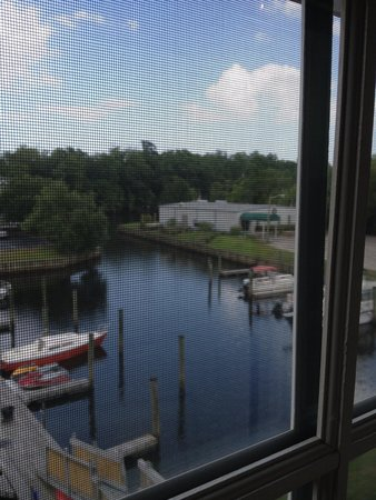 The Cypress Inn at Conway Myrtle Beach: View from our room.