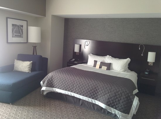 Wyndham Garden Buffalo Williamsville : King bed