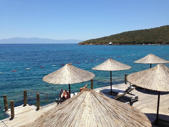 Kempinski Hotel Barbaros Bay: View from dock