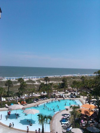 Omni Hilton Head Oceanfront Resort : The view from our room