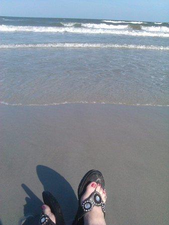 Omni Hilton Head Oceanfront Resort : The view of the ocean