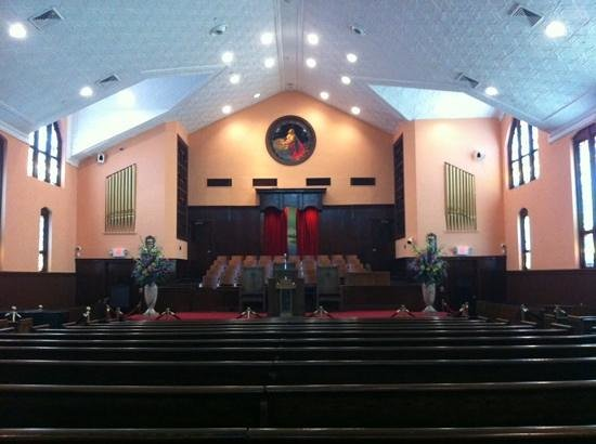 Ebenezer Baptist Church of Atlanta: Ebenizer Baptist church