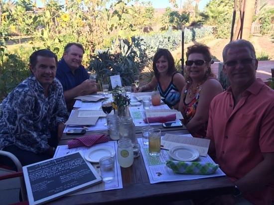 Organic Restaurant at Huerta Los Tamarindos: good times..!