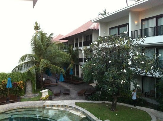 The Camakila Legian Bali : View from breakfast